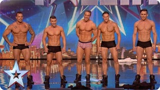 Male Strippers Fake Out, Take Over <i>Britain's Got Talent</i>