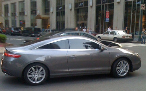 2009 Renault Laguna Coupe Caught In NYC Filming...Something