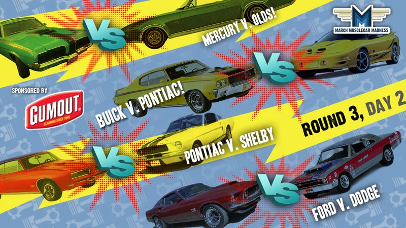 March Muscle Car Madness: Round Three, Day Two