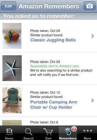 Amazon iPhone App Lets You Buy Anything You Take a Picture Of