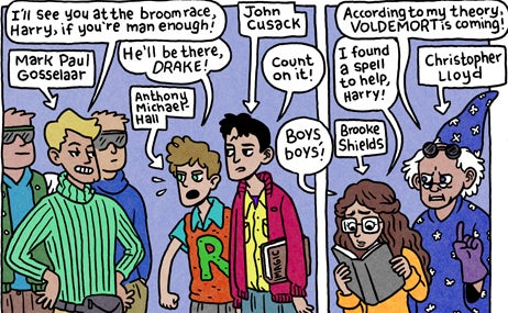 If Harry Potter Was Made in the 1980s, and Starred David Bowie