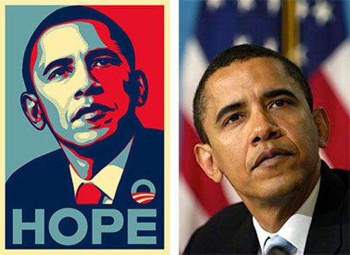 Lying 'Hope' Poster Artist Shepard Fairey Under Investigation for Lying