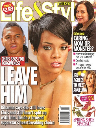 "This Week In Tabloids: Rihanna Loves Chris, Mischa's ""Skin & Bones"""