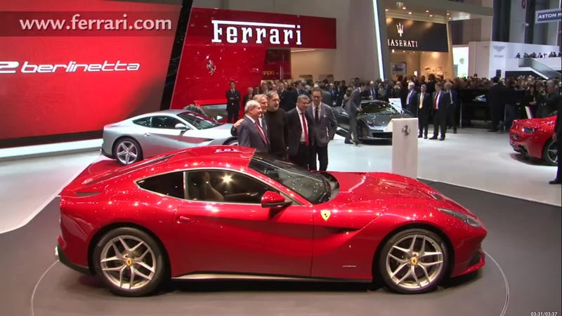 Ferrari F12berlinetta: Live Photos