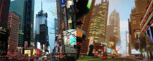 Liberty City vs New York City (In Photos)