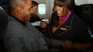 """Lusty, Busty & Fine: Jill Scott in """"Baggage Claim"""" Shows That Big Girls Can Get Sexy Too"""