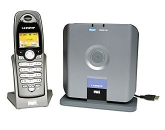 Linksys CIT300 Dual-Mode Skype/Landline Phone Hands-On
