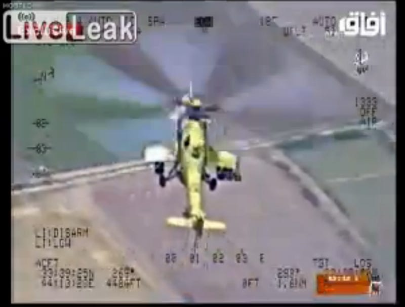 Watch Iraqi Mi-35 Hind Attack Choppers Take The Fight To The ISIS