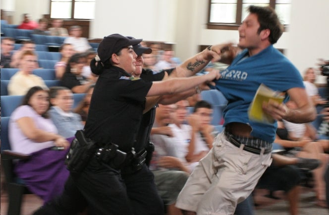 Give a Cop a Taser, He Will Taser Everybody