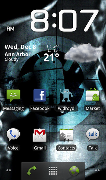 Get the Gingerbread Launcher on Your 2.2 Android Phone