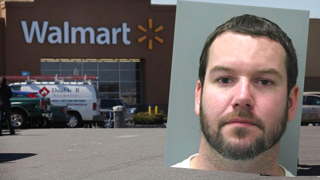 Love of Wal-Mart Moves Man to Masturbate in Public
