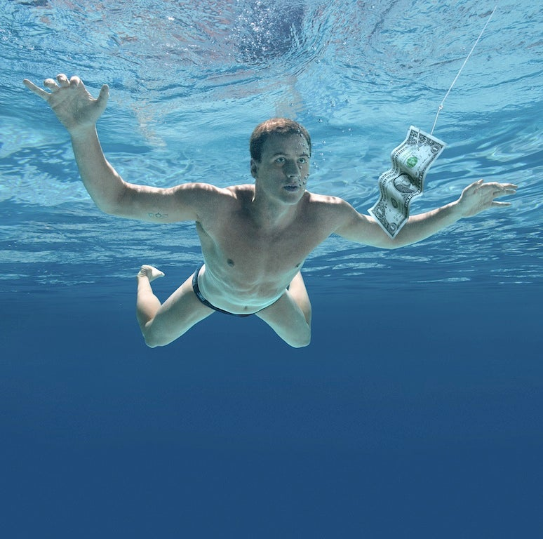 Neanderthal Recreates Nirvana's Nevermind
