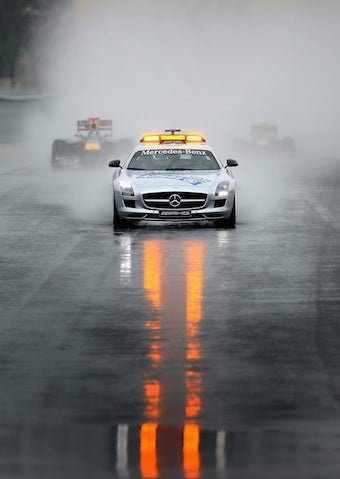 The Secret Life Of A Safety Car Driver