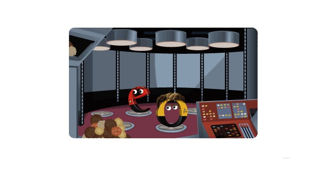 The Star Trek Google Doodle Might Be the Best One Yet