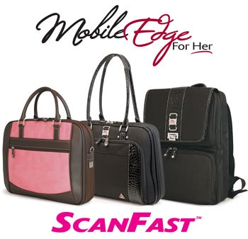 Mobile Edge Scanfast For Her: Checkpoint-Friendly Laptop Bags For the Ladies