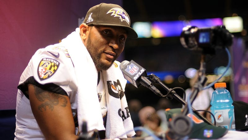 "Ray Lewis Would Prefer You Stop Asking Questions About His Murder Case, Because ""This Is God's Time"""