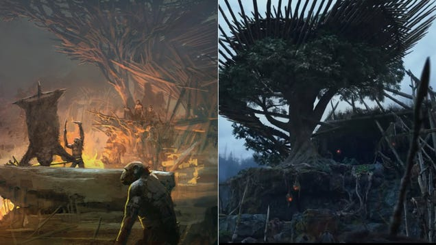 How Dawn Of The Planet Of The Apes Went From Concept Art To Screen