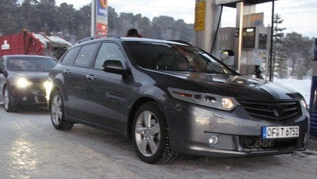 2009 Honda Accord Tourer Spotted, Wanted