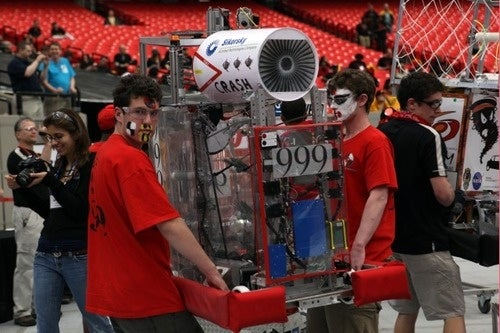 FIRST 2010: America's Engineering Whiz Kids Face Off In Robot Duels