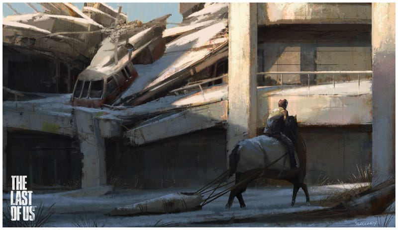 This Last of Us concept art is the coolest post-apocalyptic art in ages