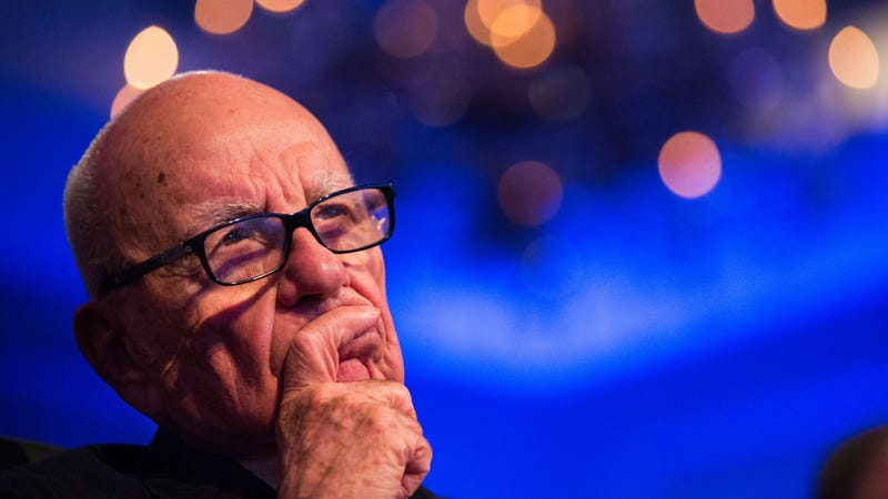 Rupert Murdoch Is A Desirable Man-About-Town Who Wishes He Was Younger