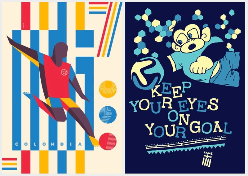 This Site Turns Each World Cup Game Into a Graphic Design Smackdown