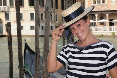 Tip Of The Hat For A Venetian Groundbreaker