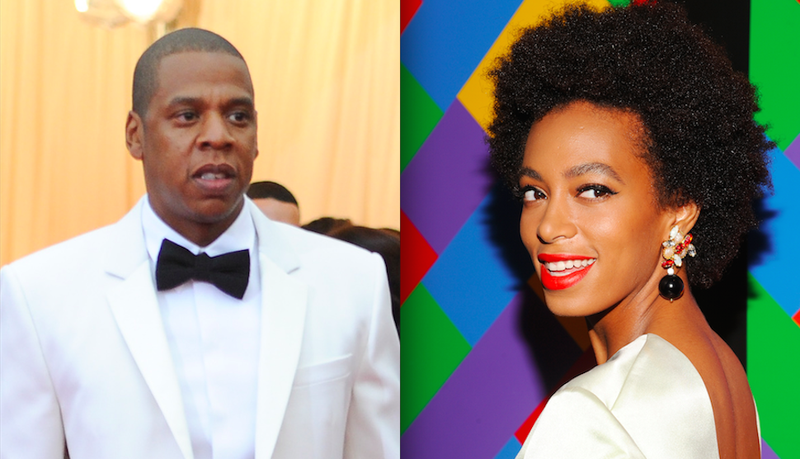 Report: Jay Z Took Solange Jewelry Shopping Today