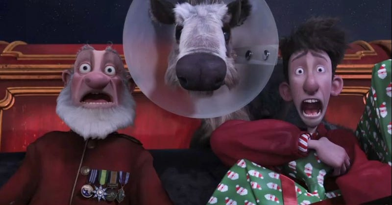 New Arthur Christmas footage stuffed our stockings with off-kilter British humor