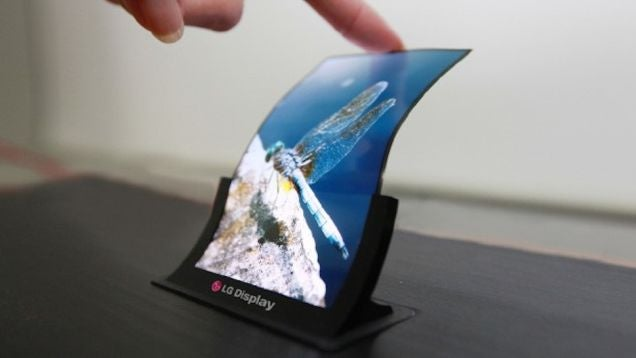This New Technology Will Finally Bring Flexible Displays To Market