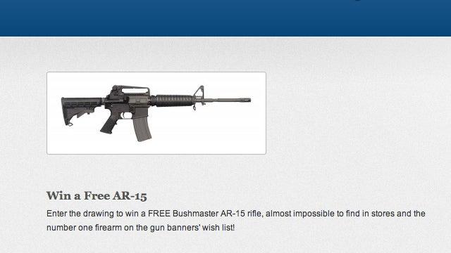 Texas Congressman Holding Contest for Free AR-15 Assault Rifle