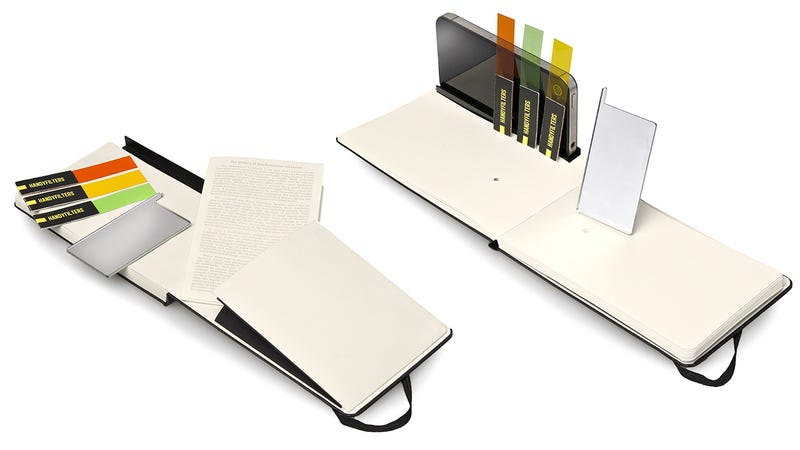 A Tiny iPhone Photography Studio Built Into a Moleskine Notebook