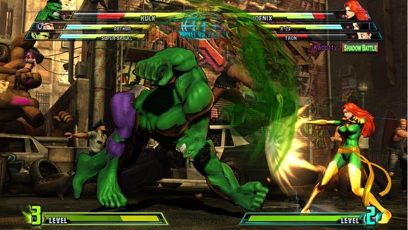 Battle Capcom's Best And Darkest In Marvel Vs. Capcom 3's Shadow Mode