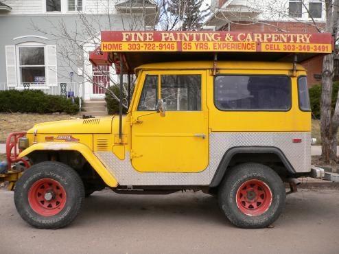 Land Cruiser Still Earning Its Keep In Denver