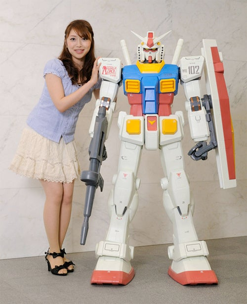 Buy A 5-Foot Tall Gundam For $3,400
