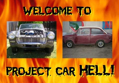 Project Car Hell: Fiat or Austin-Healey?