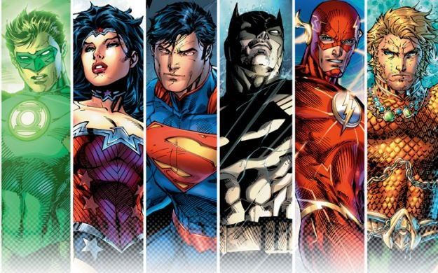 So I guess we're getting a Justice League movie?