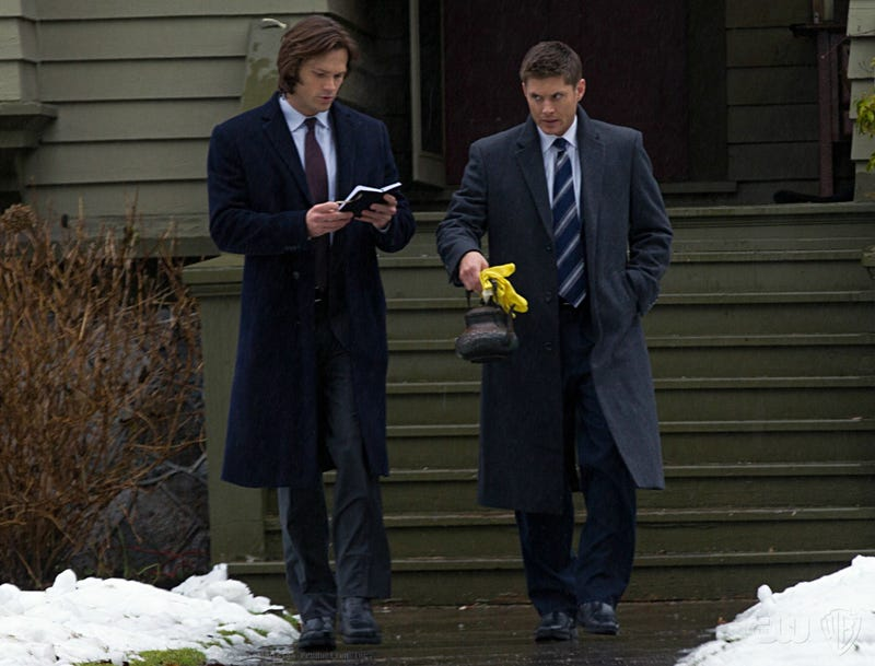 Supernatural Episode 7.16 Out With the Old Gallery