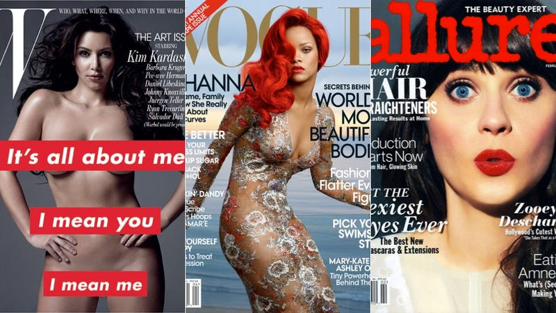 Feel Bad for Movie Actresses Because They Can't Sell Magazines