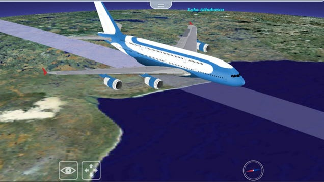 FlightPath 3D Is The First Interactive Flight Map You'll Actually Love