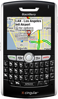 Google Maps Mobile Now Has GPS For BlackBerry 8800s