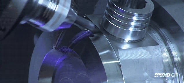 Metal milling machine video will put anyone into a hypnotic trance