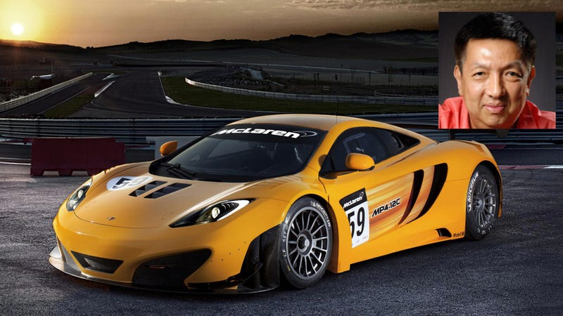Singapore billionaire buys into McLaren