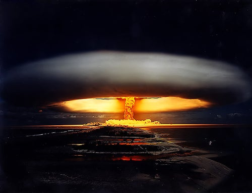 Nuclear Explosions! Oh my!