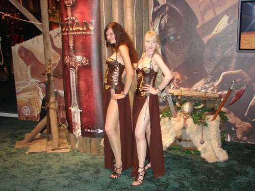 Age Of Conan Does Booth Babes Right