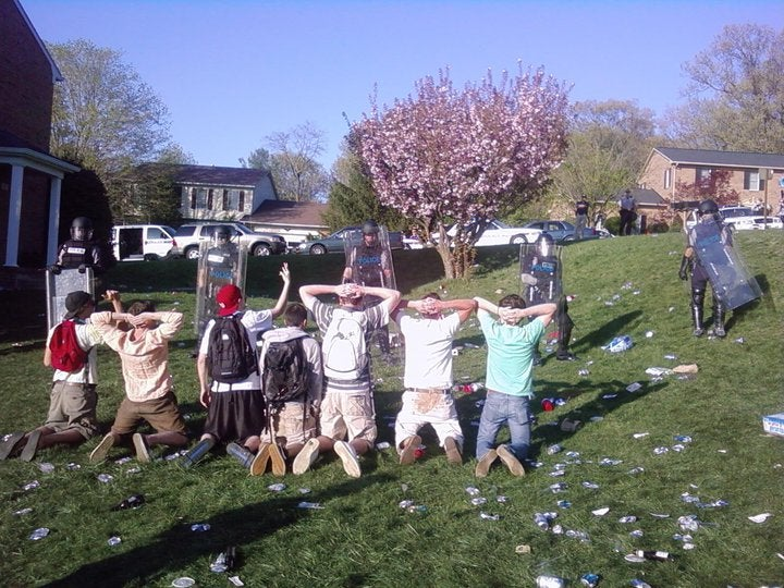 JMU's Spring Party Turns Into A Riot
