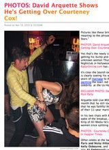 David Arquette Leaps Through Window to Secure Booze, and Other Desperate Measures