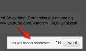 Twitter Now Automatically Shortens Links, No External Services Necessary