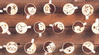 This Latte Art Stop-Motion Film W