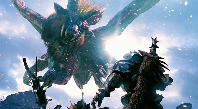 Monstrous Monster Hunter Sales Helps PSP Strike Black
